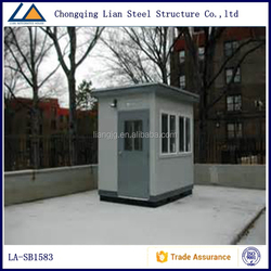 Prefabcated Mobile Sentry Box For Police House