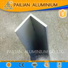 ISO certificated aluminium angle extrusion profiles,L shape aluminium corner,all types of angle bar specification