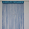 Bright magnetic mosquito glass door string curtain