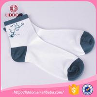 Hot item combed cotton men dress rib socks with jacqard motifs for sports