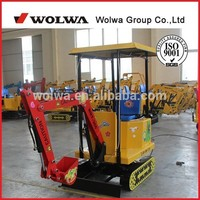 hot sale 360/180 degree rotation kids ride on excavator toys for amusement
