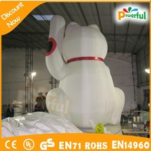 2015 new advertising products/inflatable money cat
