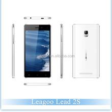 Original China Brand Smartphone Android 4.4 Leagoo Lead 2S MTK6582 Quad Core 5.0inch QHD Screen 1GB+8GB ROM