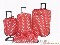 Best selling cheap pomotional travel bag EVA soft trolley luggage from Factory