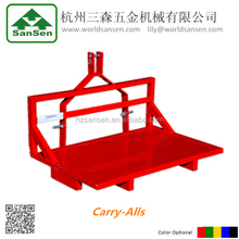 Tractor 3point hitch transport loader ,Carry-Alls attachment ,3 point implements for tractors