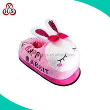Customized Lady slippers, Cheap Plush Animal Slippers, Winter Slippers