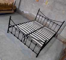 Home Furniture General Use and Bedroom Furniture Type Metal Beds