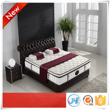 High quality pocket spring matress with soft foam mattress topper