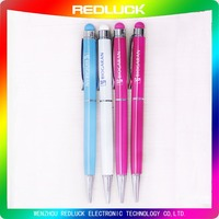 Lowest Price Personalized Promotional Metal Stylus Touch Pen With Ballpoint Pen