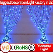 Wedding decoration 3*1m 150 led curtain light twinkle light curtain wedding fairy light curtain with CE ROHS certification 220V