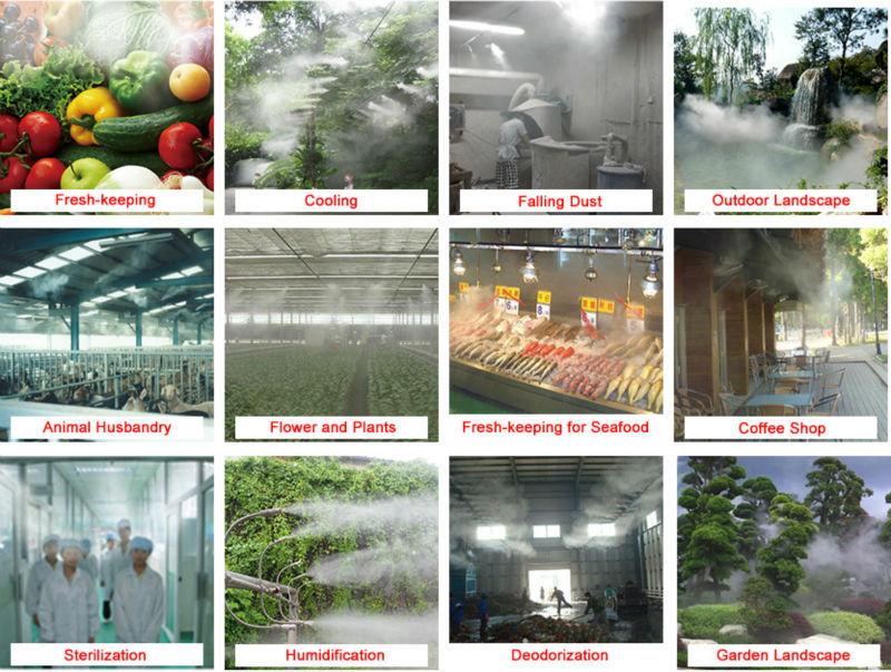 SEMIFOG 60bar 220v 870psi high pressure mist fog pump