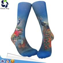 dye custom make sublimation printing socks