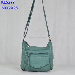 Angelkiss bag guangzhou factory trendy sling bag /light blue shoulder bag