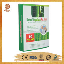 kangdi hot sale products healthcare bamboo vinegar foot