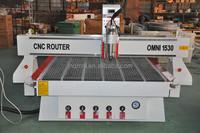 2015 OMNI machine 1530 cnc router/machines with vaccum table