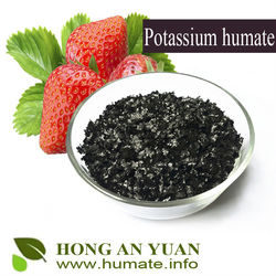 Highly soluble in water potassium humate,Soil improving potassium humate powder
