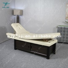 Elegant and comfortable rosewood salon facial bed for sale