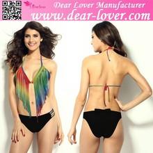 Wholesale 2015 dear lover women little top teen bikini models