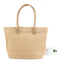 2015 New Fashion Straw Bag Large Capacity Women's Handbag Handmade Woven Bag One Shoulder Casual Beach Bags