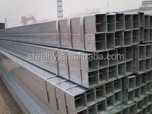 the factory price 60*80 galvanized square/rectangular steel tube / tubo galvanizado de acero