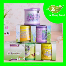 Hot selling items 70g air freshener/decorative air freshener/can gel air freshener