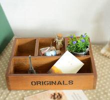 regalo creativo nuevo 4 paletas spot lote mixto de origen japonés de la bandeja de madera