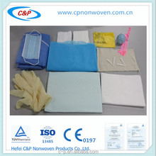 Surgical Delivery Drape Set With CE&ISO13485 Certificate