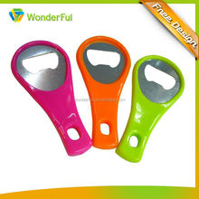 Environmental Protection Material Safety Abs Colorful Beer Bottle Opener