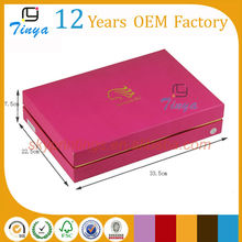 large pink wig boxes and cases