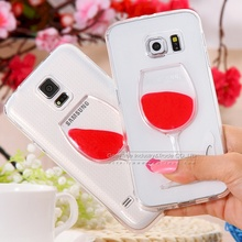 Red Wine Cup Beer Cocktail tpu phone case Cover Phone for Samsung Note 2/3/4