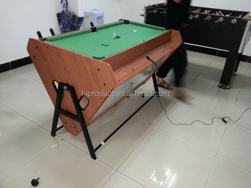 Rotary table multi fuction game table view multi game - Table baby foot billard ...