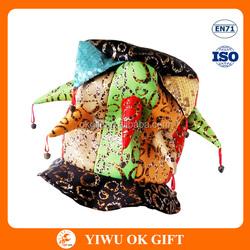 mardi gras jester hats, crazy hat party ideas