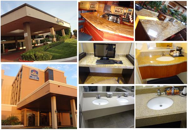 Populaire bouwmaterialen natuursteen graniet& marmeren keuken ...