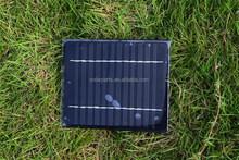 6V 200mA Customized PV Epoxy Resin Solar Panel Kits