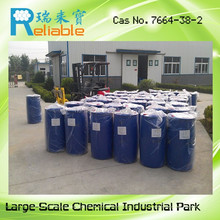 2015 Lowest Price phosphoric acid manufacturers china,technical grade phosphoric acid,Fertilizer grade bulk phosphoric acid colo