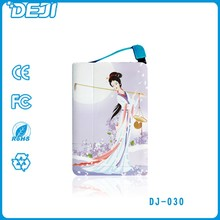 2015 newest Ultra Slim power bank,Credit card power bank 2500mah for Smartphone