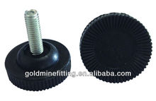 JPA015 Adjustable Feet Plastic Caster Wheels Wholesale