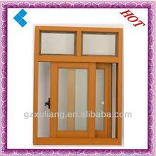 2015 popular style cheap aluminum sliding window,economy aluminum profile slidig windows