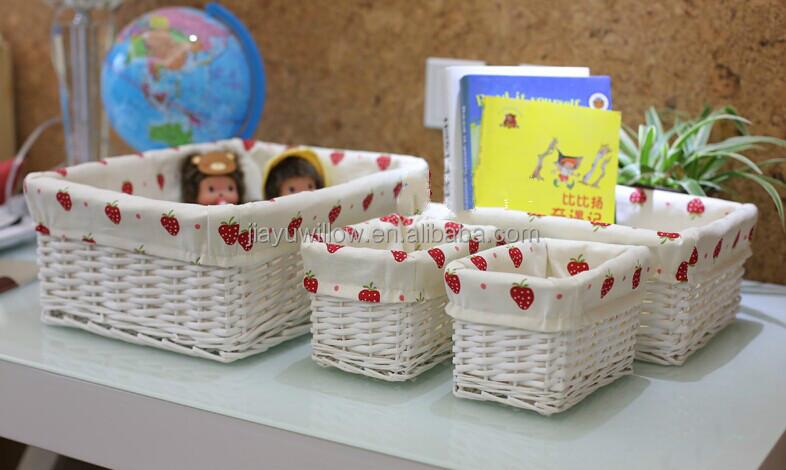 QQ20140830121700_meitu_2.jpg & Wholesale Fabric Lined Rectangular Wicker Cd Storage Basket Wicker ...