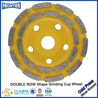 Stone polishing and grinding wheel
