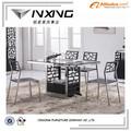 modernos de vidro mesa de jantar desenhos para venda 147