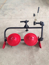 Mini grass mower for power tiller and walking tractor