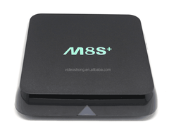 2015 Newest High-end smart tv box!!! 2.4G+5G WIFI +100/1000M Ethernet M8S Plus google android 5.1 tv box