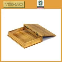 Wholesale cedar wood ,high quality thin mdf faux jewerly photo box
