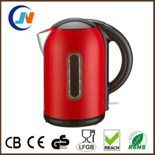 Best Stainless Steel Red kettle with water window,water level
