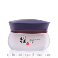 Whitening Repairing Anti-ageing Caviar Ginseng herbal extract facial cream