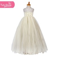 2015 the most beautiful and sexy flower girl dress for little girl tutu new dress