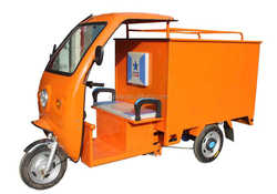 Electric Van Cargo Tricycle / Delivery Tricycle with Closed Cargo Box