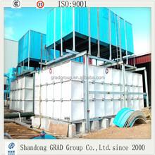 Food grade FRP / SMC sectional water tank