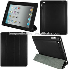 Belt clip for ipad for ipad2 3 4 wallet case,smart fashion and newly for ipad 4 white case